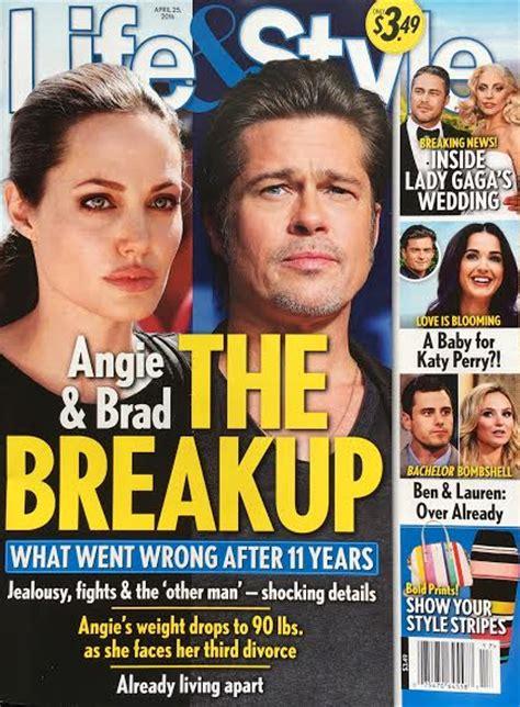 Exclusive Brangelina Threat Lifestyle Magazine by Brad Pitt Quot Up Quot