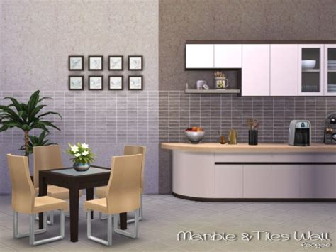 Rak Hexagon Tiles the sims resource marble tiles wall by paogae sims 4