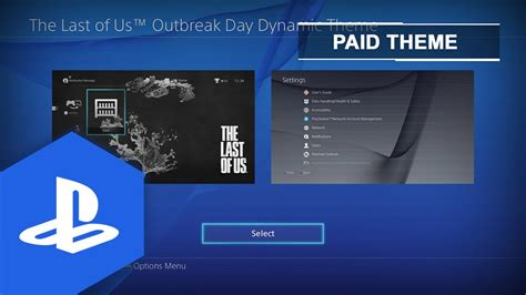 ps4 themes last of us ps4 us eu the last of us outbreak day dynamic theme