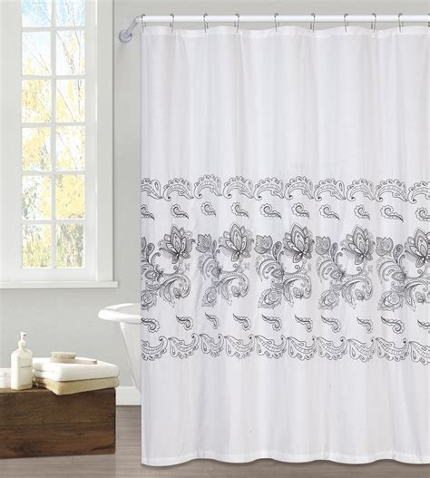 jaclyn smith drapes machine wash shower curtain kmart com