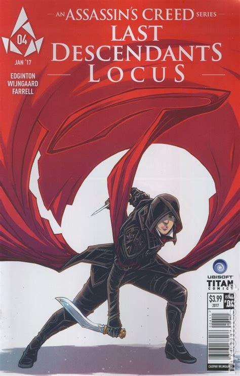 libro assassins creed locus assassin s creed locus 2016 titan comic books
