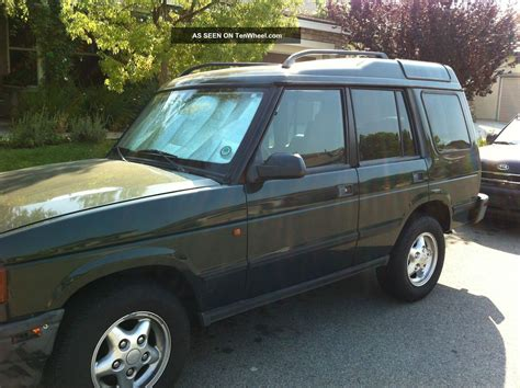 land rover 1999 1999 land rover discovery