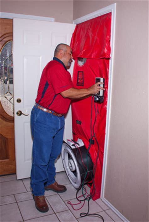 blower door test procedure lgo services blower door test san antonio