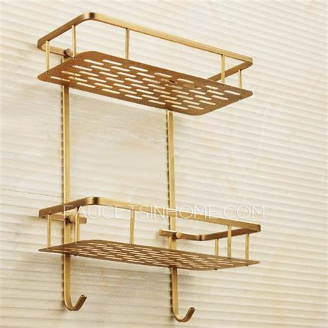 brass bathroom shelves brass bathroom shelves allied brass mfg glass bathroom