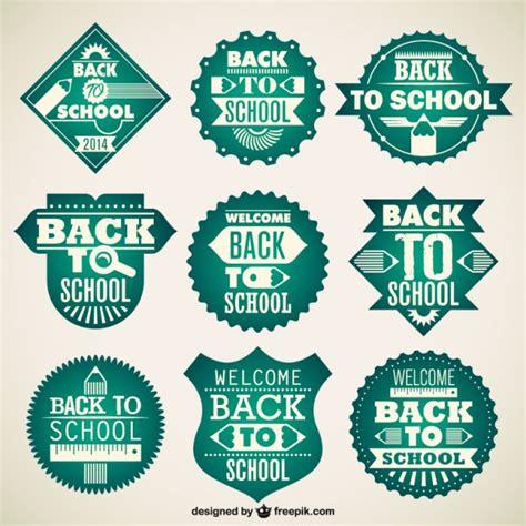 imagenes logotipos escolares dise 241 o vectorial de insignias escolares descargar