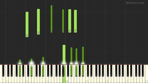 ryuichi sakamoto merry christmas  lawrence piano solo synthesia cover youtube