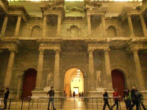 porta di mileto porta mercato di mileto foto di museo di pergamon