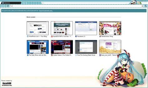 download theme google chrome vocaloid vocalova hatsune miku google chrome theme 3