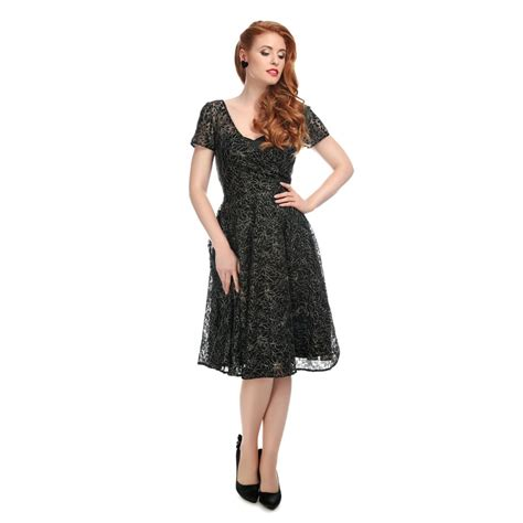 lace swing dress collectif vintage nina lace swing dress collectif