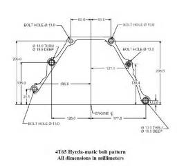 Pontiac Grand Am Bolt Pattern Pontiac Grand Am Gt Need Bellhousing Bolt Pattern Diagram