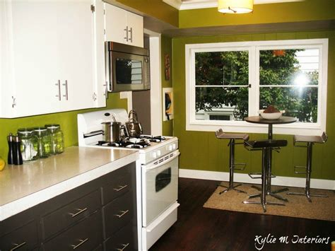 green kitchen walls painted cabinets cloud white and amherst gray charcoal