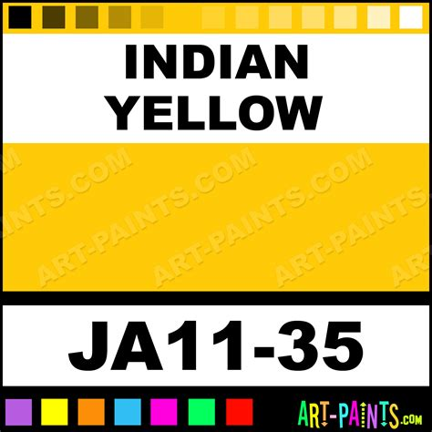 indian yellow traditions acrylic paints ja11 35 indian yellow paint indian yellow color