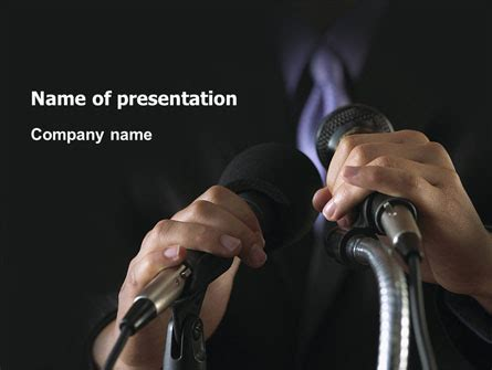 Speech Powerpoint Template Backgrounds 02956 Poweredtemplate Com Speaking Powerpoint Template