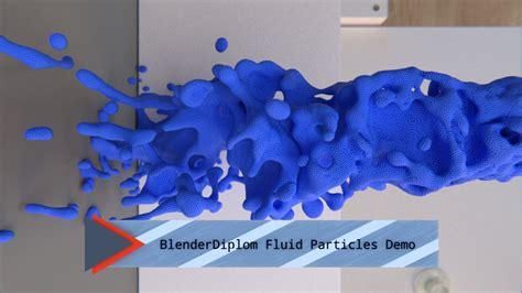 tutorial blender particles blender fluid particles demo 01
