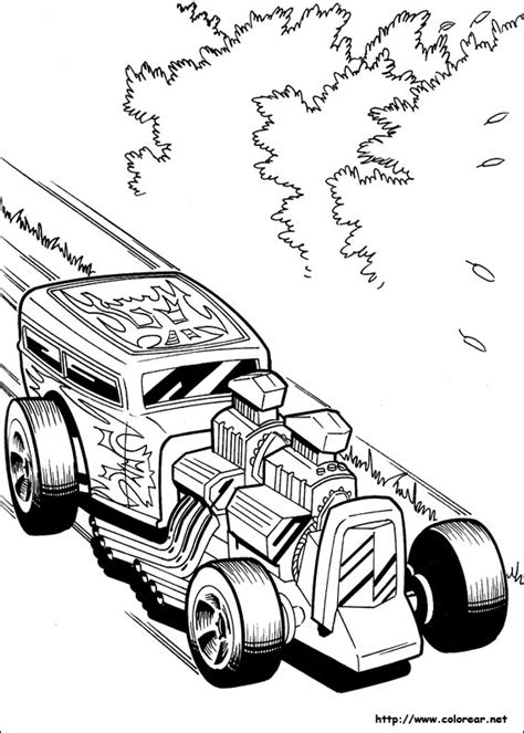imagenes de hot wheels para imprimir dibujos para colorear de hot wheels