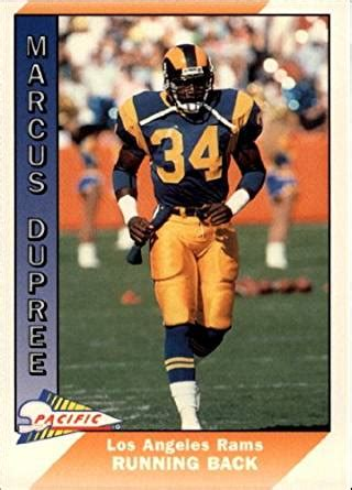 marcus dupree bench press amazon com 1991 pacific football card 248 marcus dupree
