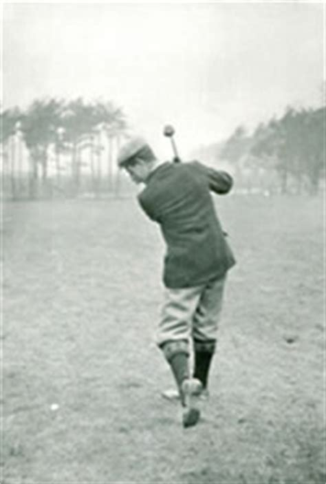 harry vardon swing cure a golf slice golf instruction the word swing