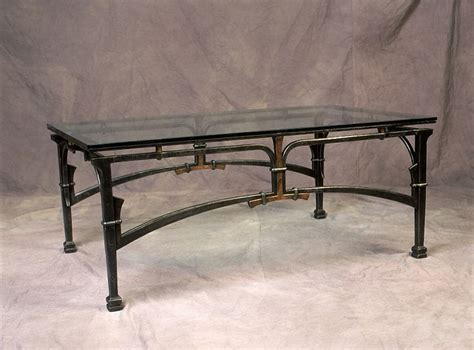 Custom Coffee Tables Blacksmith Custom Designed Coffee Table Hand Forged