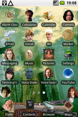 android themes harry potter harry potter android theme iphone android downloads