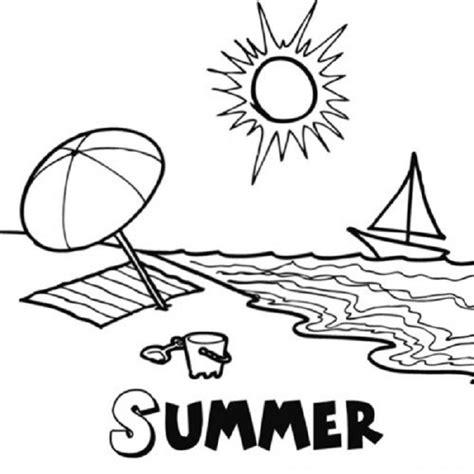 imagenes de invierno y verano para colorear verano dibujos para colorear