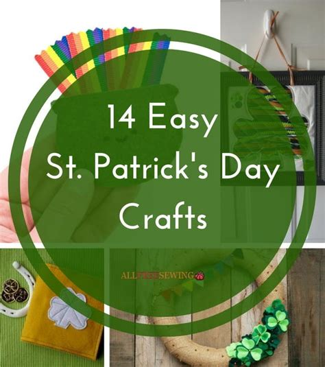 Prime Home Decor 14 easy st patrick s day crafts allfreesewing com