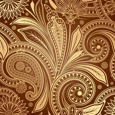 paisley pattern vector free download set of pattern paisley elements vector 04 vector floral