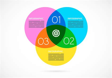 diagram infographic free vector watercolor venn diagram infographic