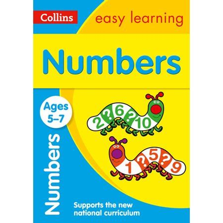 0008134200 collins easy learning age collins easy learning age 5 7 number practice ages 5 7