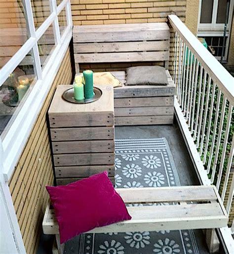 balkon bank klein balkon meubels
