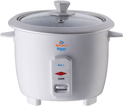 Rice Cooker Mini Cosmos bajaj rcx 1 mini electric rice cooker price in india buy bajaj rcx 1 mini electric rice cooker