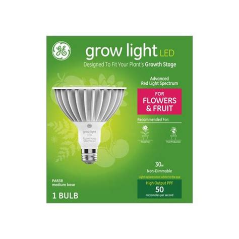 ge    light white  watt par led grow light
