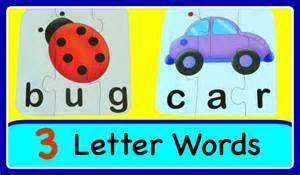 learn to read spell with 3 letter sight words easy abc