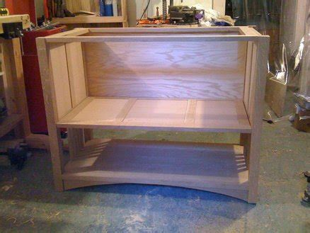 arts and crafts bathroom vanity first project arts and crafts bathroom vanity by