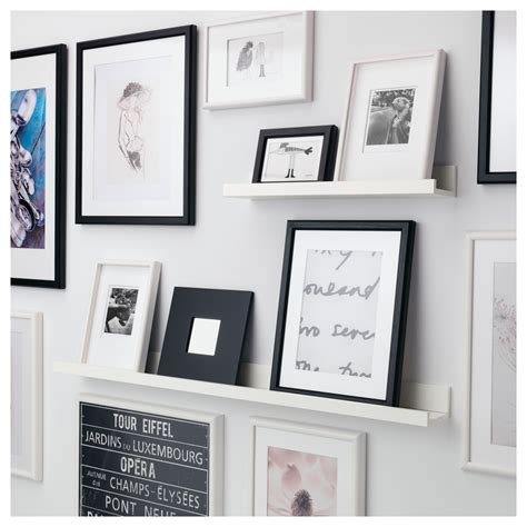 mosslanda picture ledge black 115 cm ikea mosslanda picture ledge white 115 cm ikea