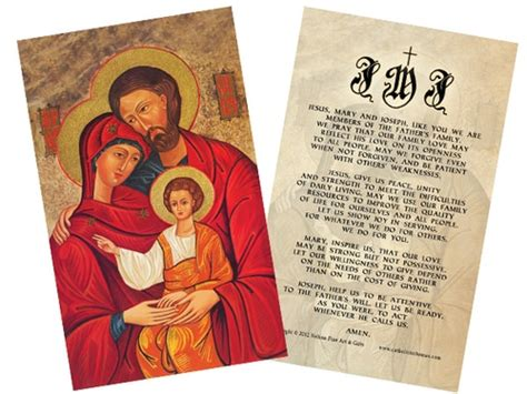 holy family cards holy family with small bird poster print catholic to the