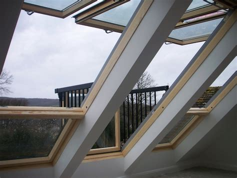 Velux Cabrio turns skylight into a small balcony in