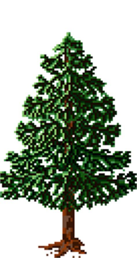 pine fir tree sprite pixeljoint com