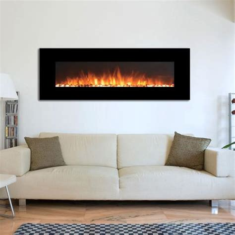 onyx electric fireplace onyx xl touchstone 72 quot wall mounted electric fireplace