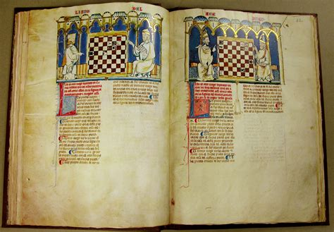 libro ajedrez para nios juegos facsimiles of illuminated manuscripts in special collections