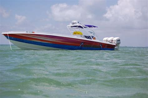 cigarette open fisherman boats for sale 2010 midnight thunder open fisherman like fountain