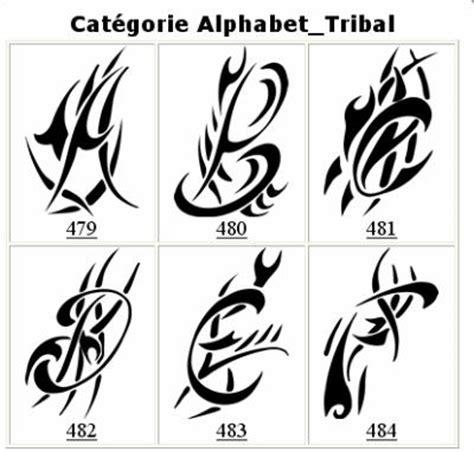 tattoo tribal alphabet tribal alphabet images images