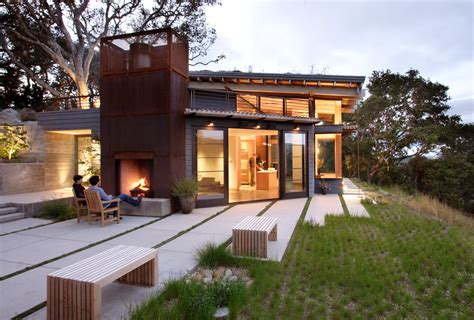 house architecture sustainable house ocho by feldman architecture