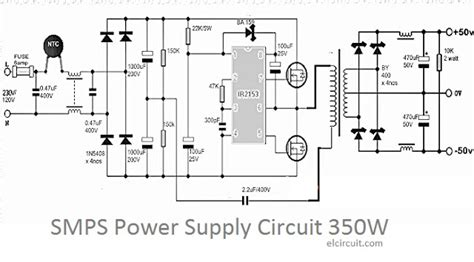 Psu 60a By Perwira Technology 350w smps power supply circuit electronic circuit