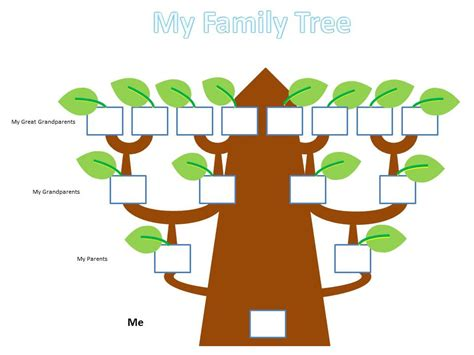 family tree template for kids school kids family tree project alyssa project group