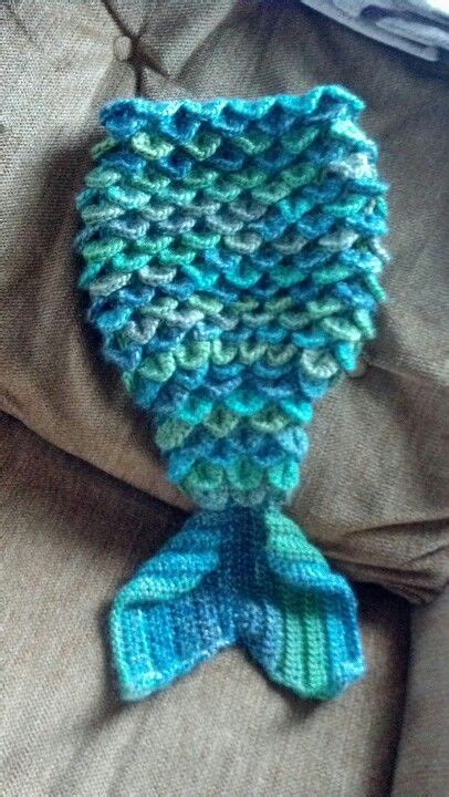 crochet pattern for mermaid tail crochet mermaid tail made by me yarn pinterest the