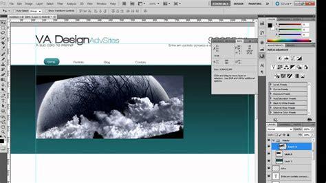 criando layout web no photoshop criando um site do zero aula 1 criando o layout no