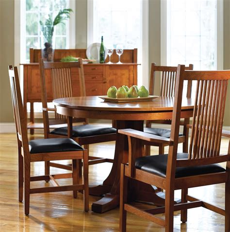 mission style cherry dining room furniture craftsman 123 best stickley images on pinterest dining room
