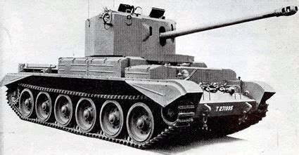 great britain's cruiser mk viii challenger a30 tanks