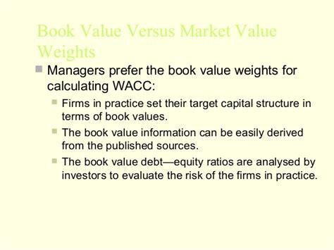 Wacc Mba by Mba 2 Fm U 3 Cost Of Capital