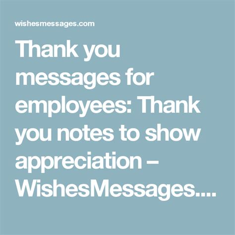 thank you letter to a great team thank you messages for employees thank you notes to show